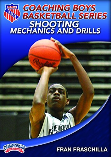 Fran Fraschilla: AAU Coaching Boys Basketball Series: Shooting Mechanics and Drills (DVD) by AAU (Amateur Athletic Union)