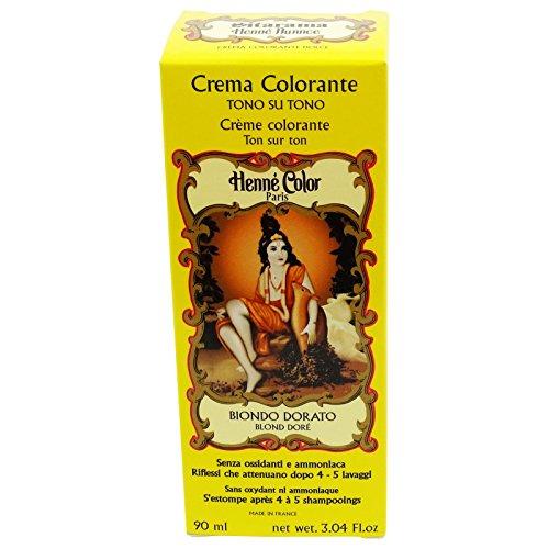 Sitarama Henne in Crema Biondo Dorato Tintura Naturale EcoBio
