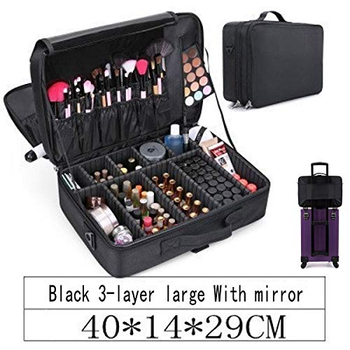 Waterdichte PU Lederen Professionele Lege Make-up Organizer Bolso Mujer Cosmetische Case Reizen Opbergtas Koffers dropshipping voornecedores ZILVER