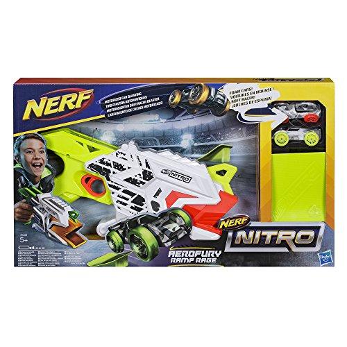 Hasbro Nerf Nitro E0408EU4 Aerofury Ramp Rage, Fahrzeugblasterset