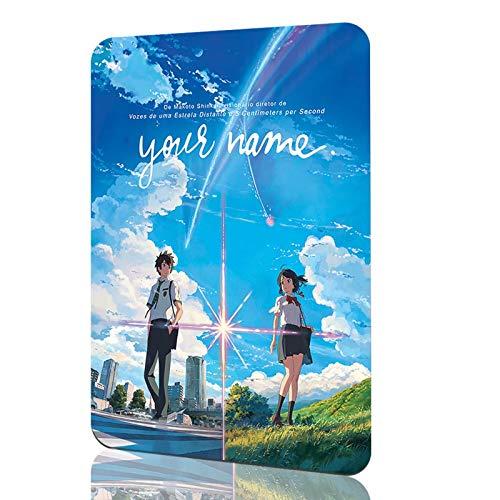 Kevin Porter Japan Anime Poster - Kiminonawa Poster Your Name Poster - 12 x 8 inch Anime Metal Wall Poster Decoration
