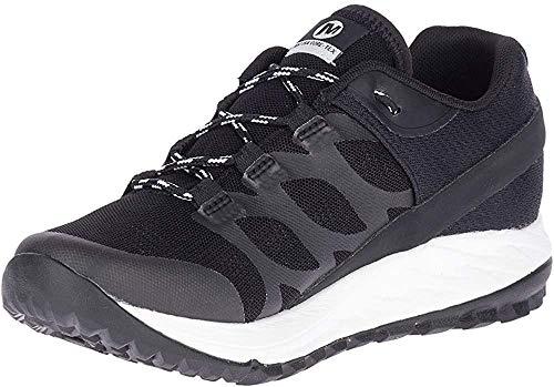 Merrell ANTORA GTX, Zapatillas para Caminar Mujer, Negro (Blanco Negro, 40 EU