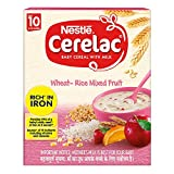 An Iron fortified baby cereal for babies from 10 months onwards A source of 19 important nutrients including vitamins and minerals. Organic : No Provides 99% of a baby's daily need of iron in 2 serves Free from added colours, flavours and preservativ...