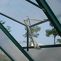 Decdeal ウィンドウオープナー 二重スプリング 温室窓オープナー 自動ベントオープナー 温度制御 自動窓開閉装置 感熱 電源不要