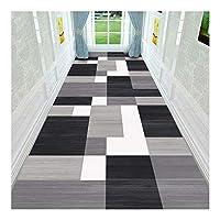 CnCnCn 階段ブランケット玄関マット回廊ベッドルーム消去可能なショルダーエントランスノンスリップ (Color : A, Size : 90X120cm)