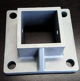 Aluminum Heavy Duty Floor Post Flange fits 2