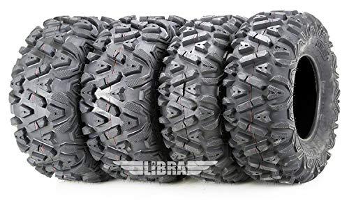 Set of 4 ATV/UTV Tires 26x9-12 Front 26x11-12 Rear 10277/278