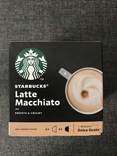 Nescafe Dolce Gusto Starbucks Latte Macchiato x 3 cajas (36 cápsulas)