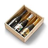 Jaume Serra - Estuche de 3 Botellas de Cava - Brut Nature Vintage, Chardonnay,...
