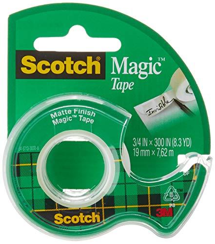 Scotch Magic Tape Matte-. 75\