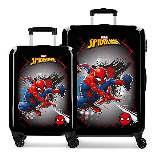 Koffer Spiderman Red harde schaal 55-68 cm