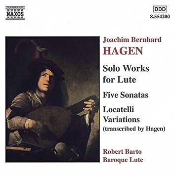 HAGEN: Lute Sonatas / Locatelli Variations