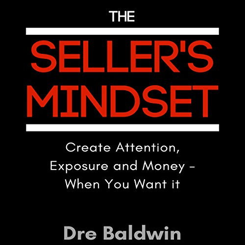 The Seller's Mindset audiobook cover art