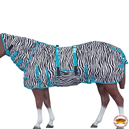 HILASON 75 in Uv Protect Mesh Bug Mosquito Horse Fly Sheet Summer Spring