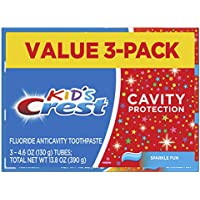 3-Count Crest Kid's Cavity Protection Toothpaste, 4.6 ounce + $5 Gift Card