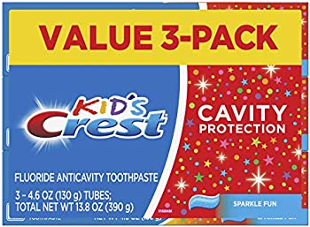 3-Pack Crest Kid's Cavity Protection Toothpaste 4.6 Ounce