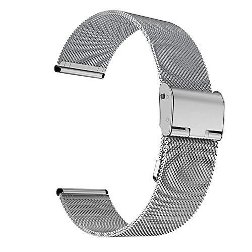 Correa Reloj 22 mm 20 mm de Reloj de Reloj de Reloj Compatible con Samsung Galaxy Watch Active 2 Band Compatible con Samsung Gear S3 Strap Compatible con Samsung Galaxy Watch 42mm 46mm Reemplazo