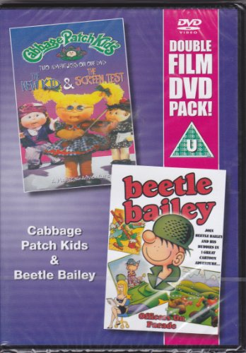 Double Film DVD Pack - Cabbage Patch Kids: Two Adventures - the New Kid & the Screen Test / Beetle Bailey: Officers on Parade