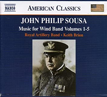 Sousa: Music For Wind Band Vol. 1-5