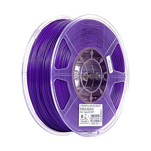 PLA Plus Filament 1.75mm, Tangle-free Filament PLA+ 3D Printing Materials for 3D Printer, 1 KG Spool-Purple_1.75mm