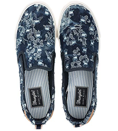 Wrangler Wl171503 N36 - Zapatos de mujer sin cordones