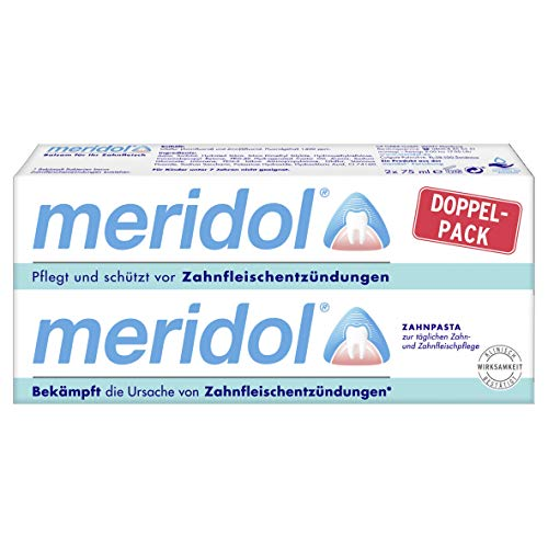 Meridol tandpasta 2er pack (2 x 75 ml)