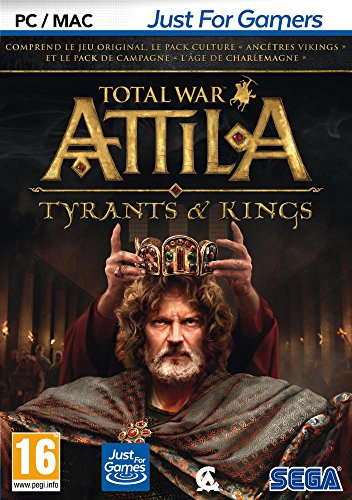 Total War: Attila - Tyrants & Kings Edition [Importación francesa]