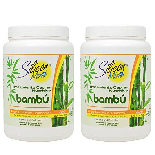 Silicon Mix Bambu Hair Treatment 60oz'Pack of 2'