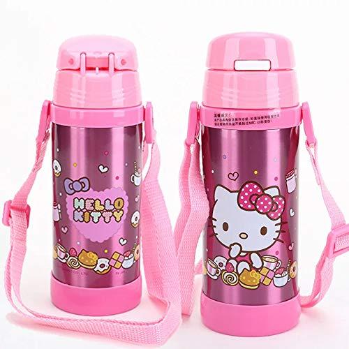 Velyon HelloKitty - Botellas de agua para niños (350 ml)