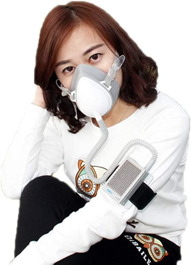Personal Wearable Electrical Air with Albuquerque Mall Mask Don't miss the campaign Purifying Replacement