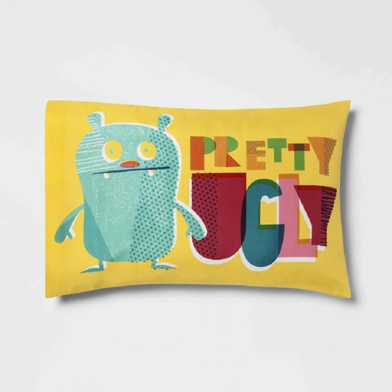 Ugly Dolls Pretty Ugly Reversible Standard Pillowcase