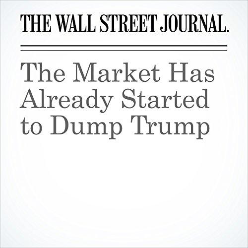 The Market Has Already Started to Dump Trump copertina