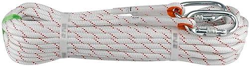 Escalade Corde Corde d'évasion à la Maison d'escalade de Secours de Corde de Corde, Corde multifonctionnelle de sécurité de Cordon, 10 15 20 30 50   100m