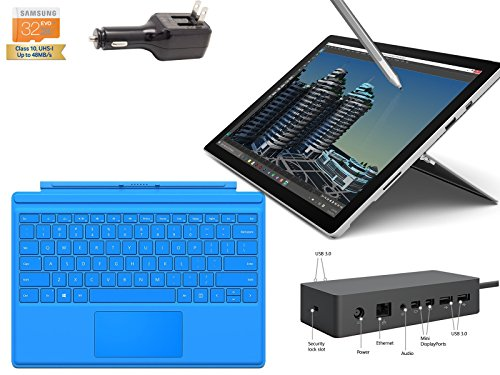 2015 Newest Microsoft Surface Pro 4 Core i5-6300U 8GB 256GB 12.3