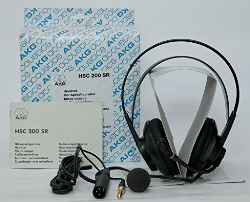 AKG HSC 200 SR Headset/Kopfhörer mit Mikrofon Klinke/XLR