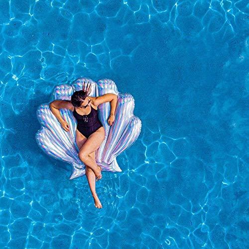 Poolcandy Holographic Deluxe Seashell Float