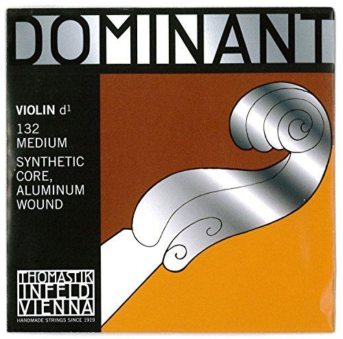 Thomastik Corda per 4/4 violino Dominant - corda Re nucleo sintetica, rivest. alluminio, media