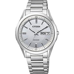 [シチズン]CITIZEN 腕時計 EXCEED エコ・ドライブ電波時計 AT6030-60A メンズ