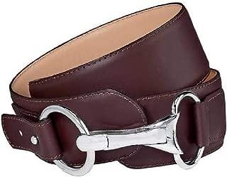 Tailored Sportsman Snaffle Brown Belt