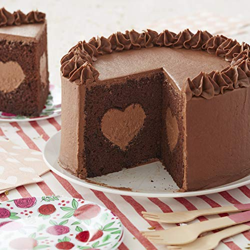 Wilton Tasty Heart 2-Piece Pan Set for Filled Cakes