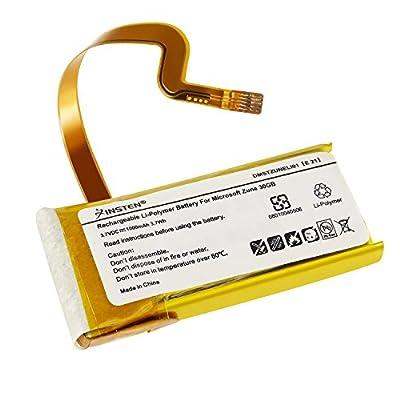 eForCity Battery for Zune 1G 30GB Microsoft G71C0006Z110