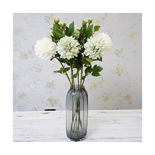 Profusion Circle – Bonsái de imitación de flor artificial de dalia para el hogar, jardín, escenario de boda, fiesta…