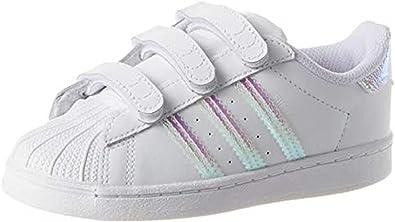 adidas Superstar Foundation CF, Chaussures Bébé Marche Mixte Enfant
