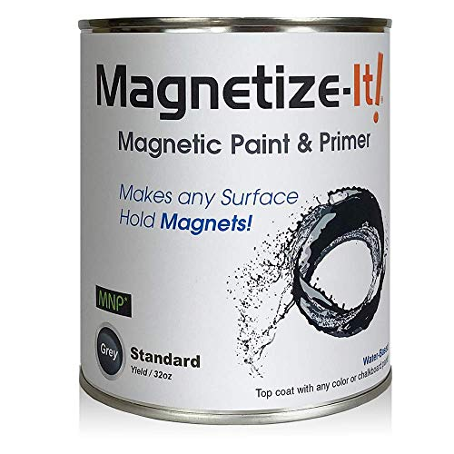 Magnetize-It! Magnetic Paint & Primer – Standard Yield 32oz, MISTD-1530