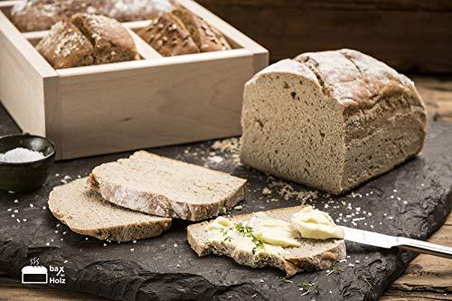 bax im Holz Brot-Holzbackrahmen aus Buchenholz doppelt