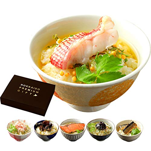 北海道 ご馳走生茶漬け 5種セット 高級 お茶漬け 詰め合わせ ギフトセット お祝い【T01】 (通常ギフト)