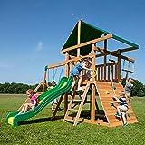 Backyard Discovery Mount McKinley All Cedar Wood Swing Set - Amazon Exclusive