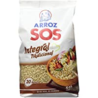Arroz SOS Integral Tradicional  1 Kg - [Pack De 10] - Total 10 Kg