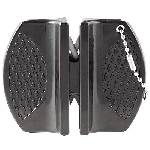 Walther Micro Messerschärfer Mini für Outdoor, Jäger und unterwegs Schärfwerkzeug Messerschleifer