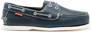 Chatham Dominica, Chaussures Bateau Homme, Bleu (Navy 001), 43.5 EU